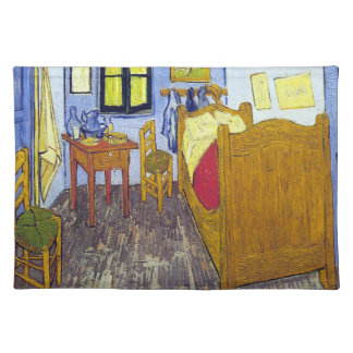 Vincent van Gogh 1888 The Bedroom At Arles Placemat