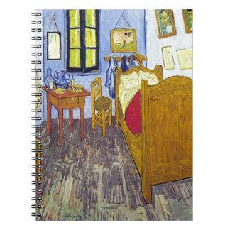 Vincent van Gogh 1888 The Bedroom At Arles Spiral Notebook
