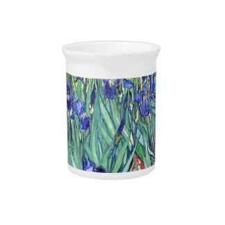 Vincent van Gogh 1889 Irises Drink Pitcher