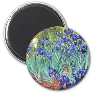 Vincent van Gogh 1889 Irises Magnet