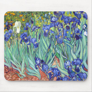 Vincent van Gogh 1889 Irises Mouse Pad