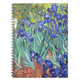 Vincent van Gogh 1889 Irises Notebooks