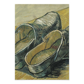 Vincent van Gogh - A pair of leather clogs Card