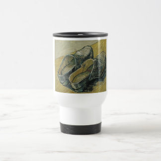 Vincent van Gogh - A pair of leather clogs Travel Mug