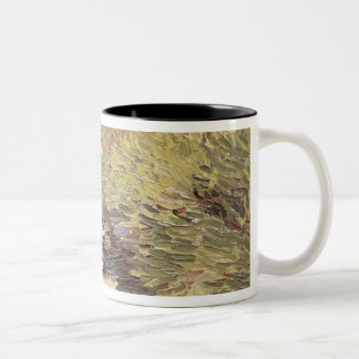Vincent van Gogh | A Road in St. Remy Two-Tone Coffee Mug
