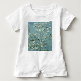 Vincent Van Gogh Almond Blossom Floral Painting Baby Romper