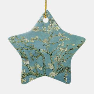 Vincent Van Gogh Almond Blossom Floral Painting Ceramic Ornament