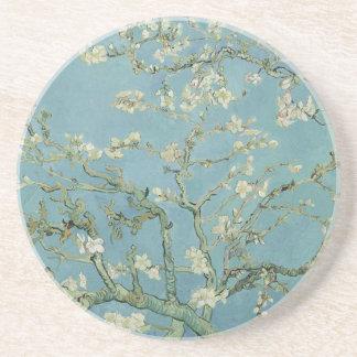 Vincent Van Gogh Almond Blossom Floral Painting Coaster