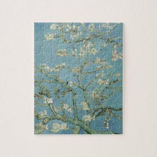 Vincent Van Gogh Almond Blossom Floral Painting Jigsaw Puzzle
