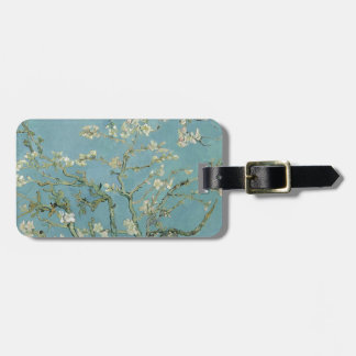 Vincent Van Gogh Almond Blossom Floral Painting Luggage Tag