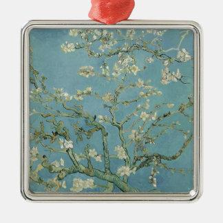 Vincent Van Gogh Almond Blossom Floral Painting Metal Ornament