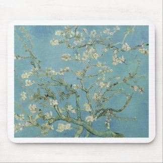 Vincent Van Gogh Almond Blossom Floral Painting Mouse Pad