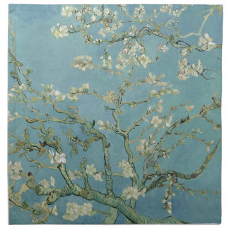 Vincent Van Gogh Almond Blossom Floral Painting Napkin