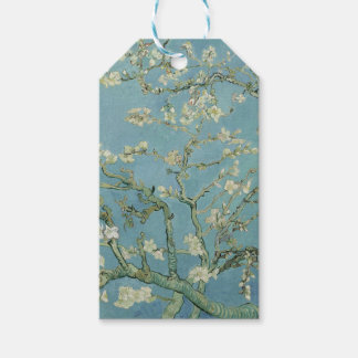 Vincent Van Gogh Almond Blossom Floral Painting Pack Of Gift Tags
