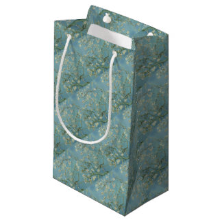 Vincent Van Gogh Almond Blossom Floral Painting Small Gift Bag