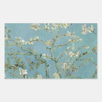 Vincent Van Gogh Almond Blossom Floral Painting Sticker
