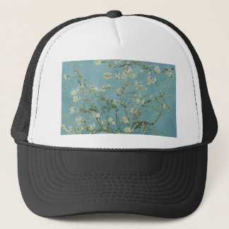 Vincent Van Gogh Almond Blossom Floral Painting Trucker Hat