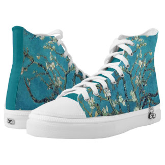 Vincent Van Gogh Almond Blossoms High Tops