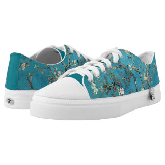Vincent Van Gogh Almond Blossoms Low-Top Sneakers