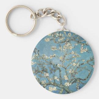 Vincent van Gogh | Almond branches in bloom, 1890 Basic Round Button Keychain