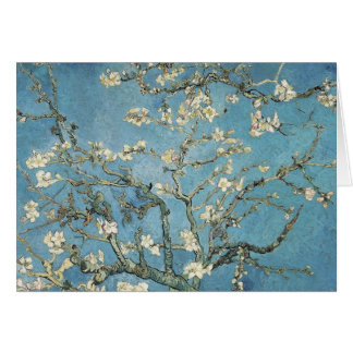 Vincent van Gogh | Almond branches in bloom, 1890 Greeting Card