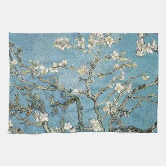 Vincent van Gogh | Almond branches in bloom, 1890 Kitchen Towel