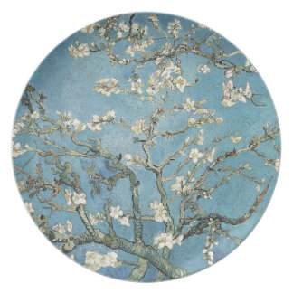 Vincent van Gogh | Almond branches in bloom, 1890 Party Plate