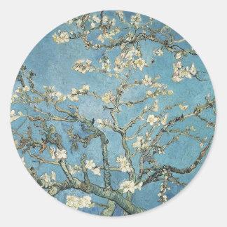 Vincent van Gogh | Almond branches in bloom, 1890 Round Sticker