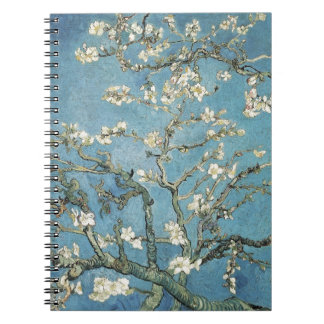 Vincent van Gogh | Almond branches in bloom, 1890 Spiral Notebooks