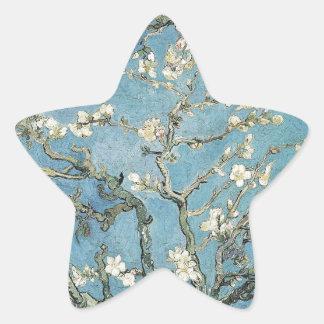 Vincent van Gogh | Almond branches in bloom, 1890 Star Sticker