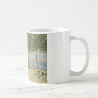 Vincent van Gogh - Along the Seine Coffee Mug