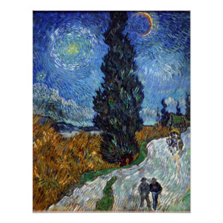Vincent Van Gogh Art Print Country Road Provence