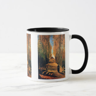 Vincent Van Gogh - Avenue Of Poplars In Autumn Mug
