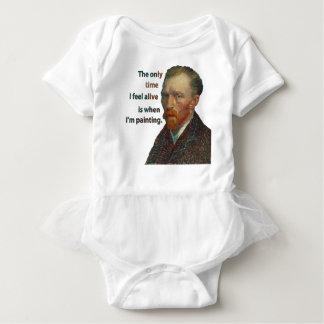 Vincent Van Gogh Baby Bodysuit