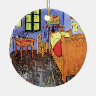 Vincent Van Gogh - Bedroom In Arles Fine Art Ceramic Ornament