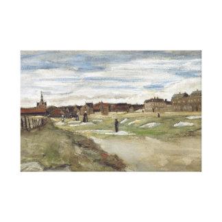 Vincent van Gogh - Bleaching Ground Canvas Print