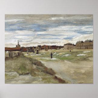 Vincent van Gogh - Bleaching Ground Poster