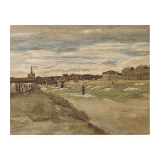Vincent van Gogh - Bleaching Ground Wood Canvas