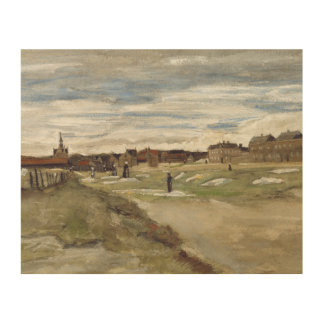 Vincent van Gogh - Bleaching Ground Wood Canvases