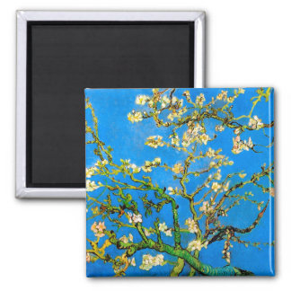 Vincent Van Gogh - Blossoming Almond Tree Fine Art Magnet