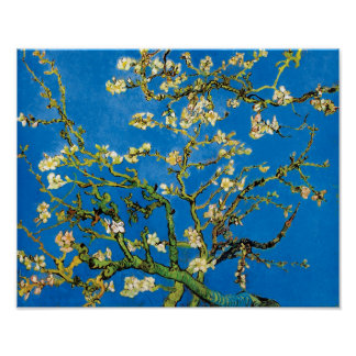 Vincent Van Gogh - Blossoming Almond Tree Fine Art Poster
