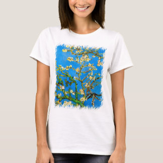 Vincent Van Gogh - Blossoming Almond Tree Fine Art T-Shirt