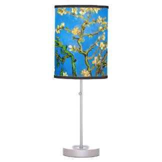 Vincent Van Gogh - Blossoming Almond Tree Fine Art Table Lamp
