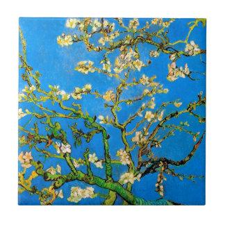 Vincent Van Gogh - Blossoming Almond Tree Fine Art Tile