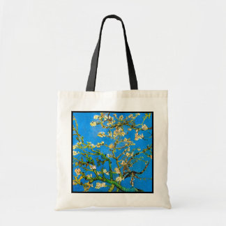 Vincent Van Gogh - Blossoming Almond Tree Fine Art Tote Bag