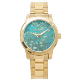 Vincent Van Gogh Blossoming Almond Tree Floral Art Watch