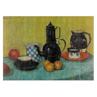 Vincent van Gogh Blue Enamel Coffee Pot Boards