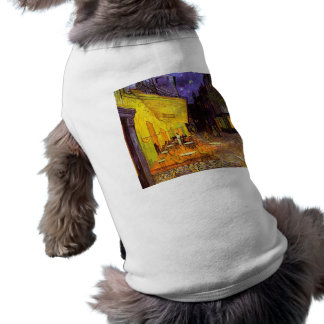 Vincent Van Gogh Cafe Terrace At Night Fine Art Dog Clothes