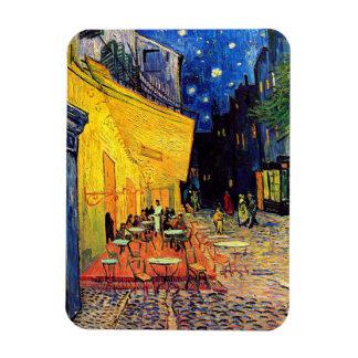 Vincent Van Gogh - Cafe Terrace At Night Fine Art Magnet