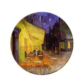Vincent Van Gogh Cafe Terrace At Night Fine Art Plate